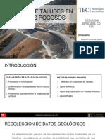 Exposición Geología