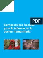 Compromisos básicos para la infancia en acción humanitaria