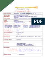 Factory Profile for Disari Indu (Pvt.) Ltd..doc