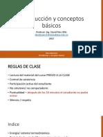 01 Introducción y Conceptos Termodinamica