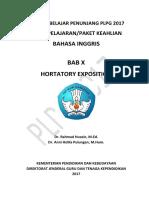 BAB X Hortatory Exposition
