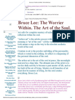Bruce Lee_ the Worrier Within