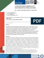 Importancia Del Recurso Hidrico en Colombia y Sus Pequeñas Pooblaciones Docx