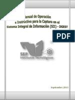 Manual de Operación SII-DGEST Sep. 2013 Okey