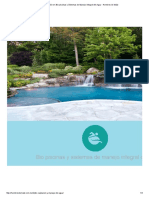 Capacitación en Bio Piscinas y Sistemas de Manejo Integral Del Agua - Hombres de Maíz