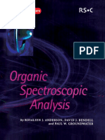 12633260 Organic Spectroscopic Analysis