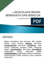 Pengelolaanbahanberbahayadanberacun 140719003257 Phpapp01(1)