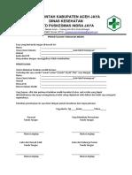 Form Informed Concent