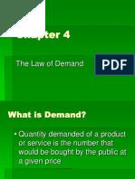 Economics-Demand