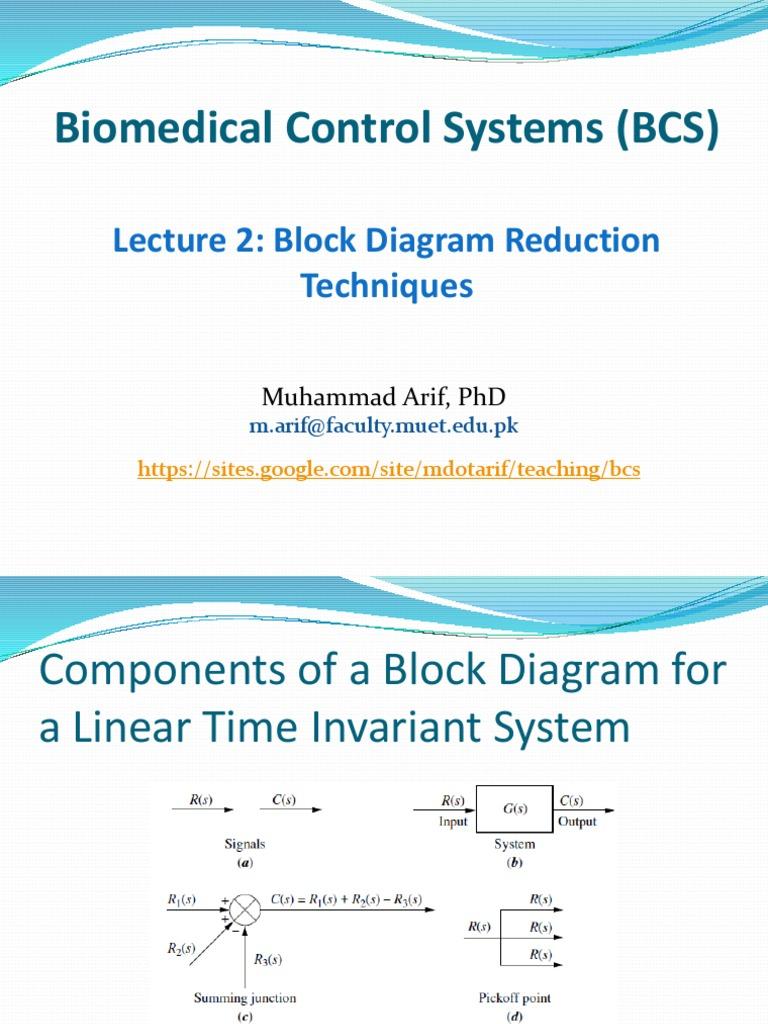 Enchanting Control Block Diagram Reduction Sketch - Electrical ...