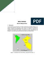 Mina Pierina geologia y geotecnia