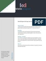 Kleindesigned Design Process