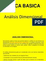 SEMANA 02 - Analisis Dimensional