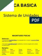 SEMANA 01 - Sistema de Unidades