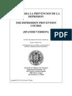 curso Para La Prevencion de La Depresion