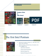 The Intel Pen Ti Um Processor