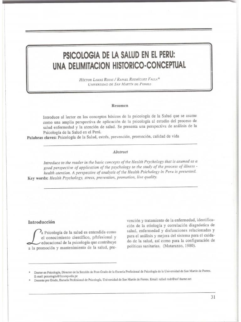 PSICOLOGÍA DE LA SALUD HISTORIA - PERÚ.pdf