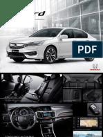 Accord 2016 Brochure