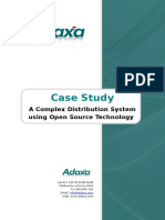 Case Study Complex Open Source Distribution System