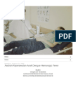 DUNIA KEPERAWATAN Asuhan Keperawatan Anak Dengue Hemoragic Fever