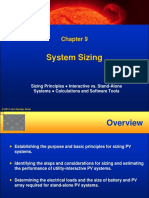 PV solar System Sizing