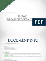 3G Capacity Optimization_Huawei