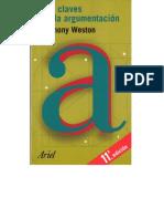 Weston Las claves de la argumentación.pdf