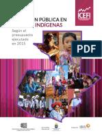INVERSIÓN PÚBLICA EN PUEBLOS INDÍGENAS