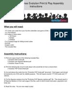 Evolution PnP Assembly Instructions