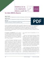 Características Distintivas de Los Emprendedores y Los Empresarios Establecidos.