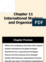 BA 11 International Strategy and Organization