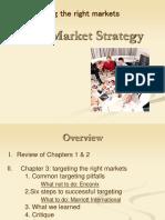 Go to Market Strategy Ch 3 Slides (Steve)