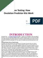 Ovulation Testing