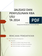 Rencana Pendapatan Dan Belanja Rba