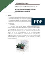 Jobsheet Praktikum Pengukuran Listrik Menggunakan Amperemeter Dan Voltmeter