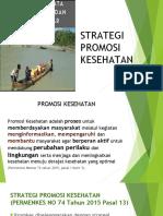 Strategi Nasional Promosi Kesehatan Edit