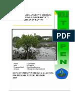 Makalah; Konservasi Mangrove Sebagai Pendukung Sumber Hayati Perikanan Pantai