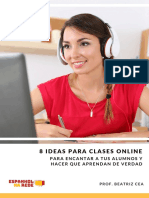 8 Ideas Para Clases Online