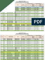 Training Calendar for TM 2015