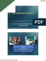 8. Praktikum Pemeriksaan Telinga dr. Dian Ayu Sp. THT-KL.pdf