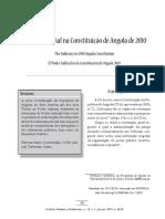 Poder Judicial Angola - Bacelar Gouveia