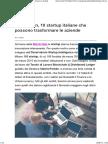 Blockchain, 10 Startup Italiane Che Possono Trasformare Le Aziende