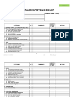HSE CHK 4.5.1.6 13 REV 03 Sample Inspection Checklist