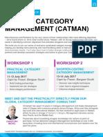 2017 CatMan Workshop Series