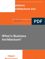 Introduction to Business Architecture by Aniekan Okono