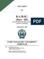 BA BSC Part III(1)