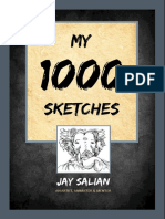 My 1000 Sketches