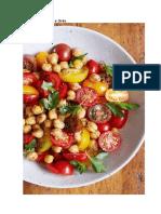 Salada de Tomate e Grão