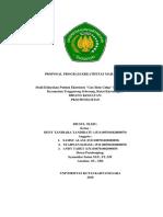 Proposal PKM-Penelitian