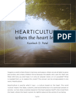 Hearticulture When the Heart Leads
